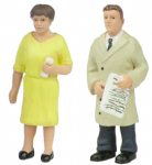 47-410 Scenecraft standing passengers C (pack of 2 figures)